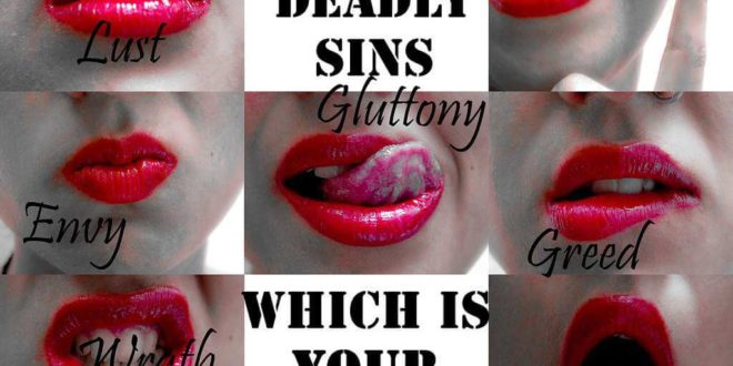 seven deadly sins party theme
