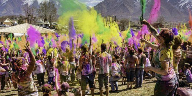 holi festival party theme
