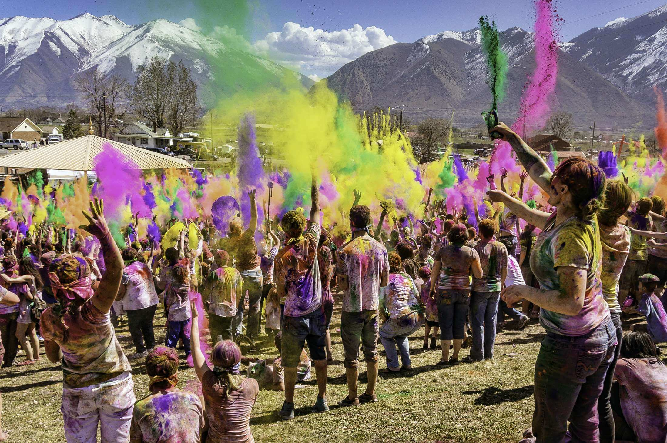 holi festival party theme