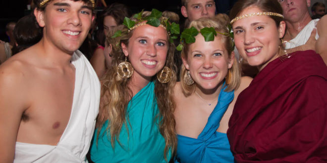 toga party theme