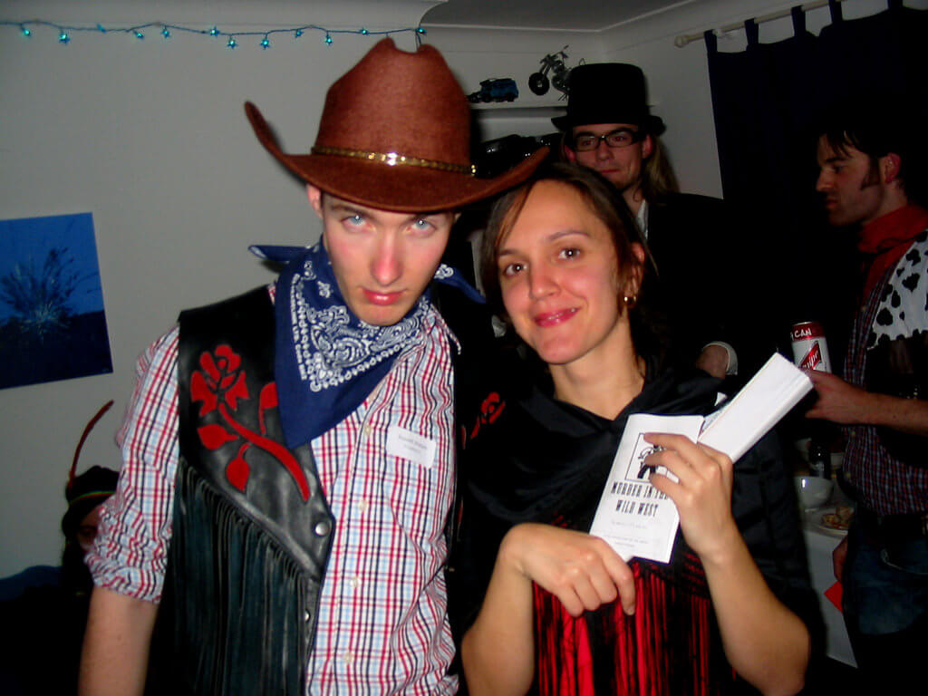 murder mystery party theme